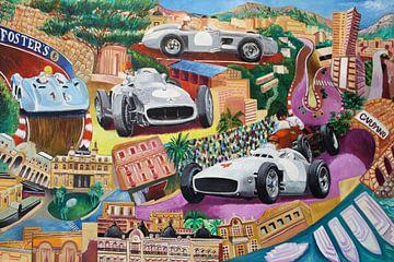 Fangio, Grand-Prix von Monaco Mercedes von Jeroen Quirijns