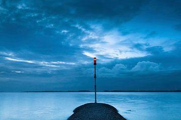 das rote Licht Hollandsch Diep von Eugene Winthagen