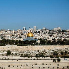 jerusalem skyline van CW fotografie