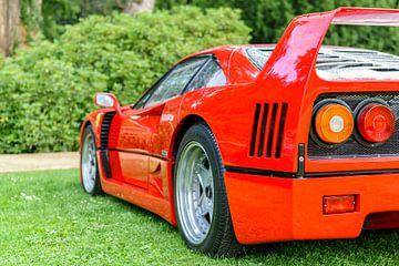 Ferrari F40 supercar uit de jaren 80 van Sjoerd van der Wal