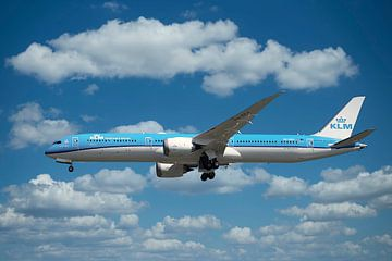 KLM PH BKH Boeing 787-10 Dreamliner, Weißer Lotus von Gert Hilbink