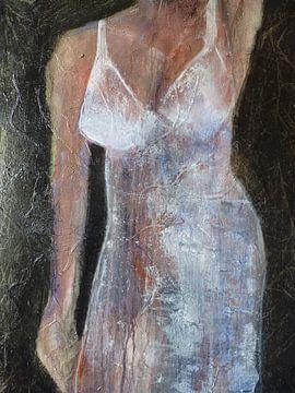 3. vrouw in lingerie, whitney. sur Alies werk