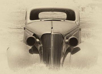 Klassieke auto van Anjo Schuite