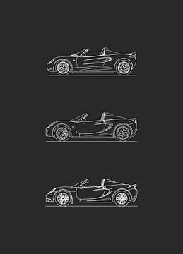 Lotus Elise Entwicklung von Artlines Design