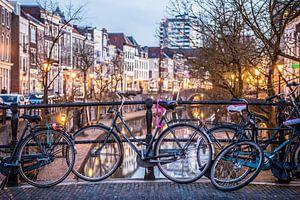 Een typisch Utrechts beeld aan de Oudegracht