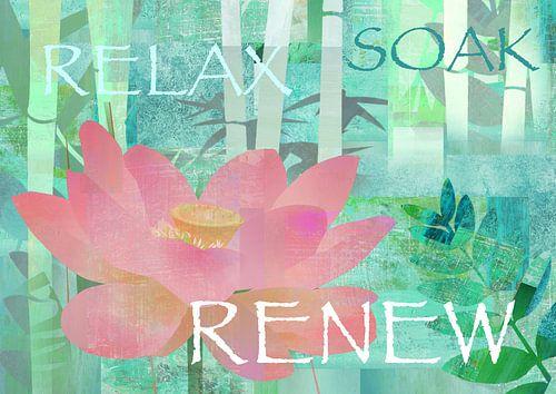 Relax, Renew Soak Lotus