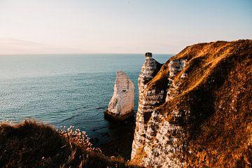 De kust van Frankrijk Etretat van Lindy Schenk-Smit