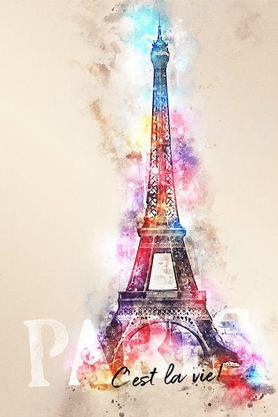 Eiffeltoren - Parijs van Sharon Harthoorn