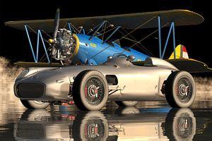 Mercedes W196 - ein ikonischer Sportwagen von 1954