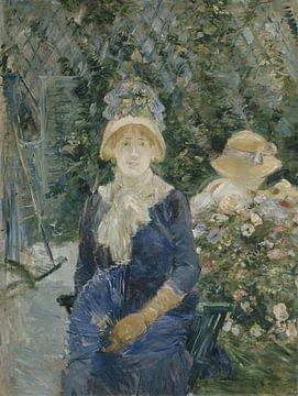 Woman in a Garden, Berthe Morisot sur