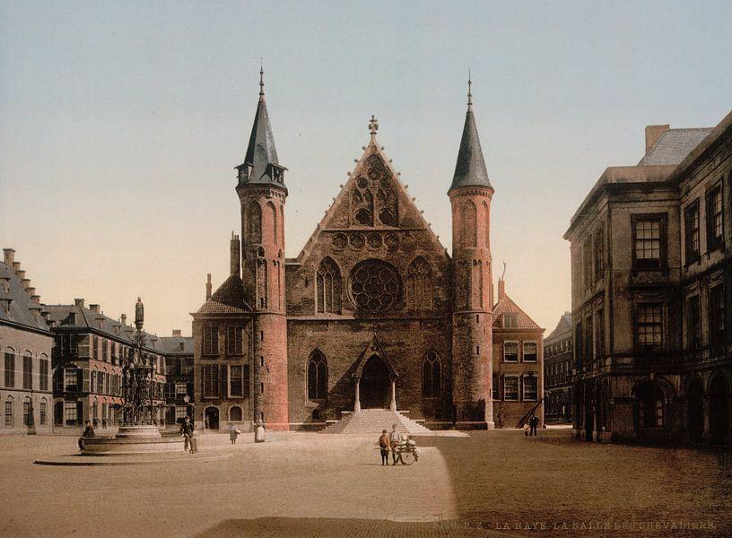 Ridderzaal, Binnenhof, Den Haag van Vintage Afbeeldingen