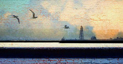Abstrakte Holländische Landschaft