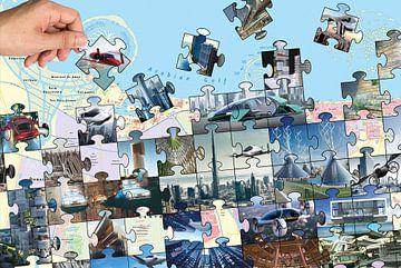Dubai Zukunft von Dolf Pauw
