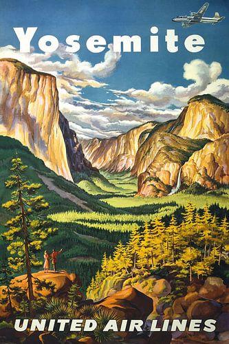 Yosemite National Park reisposter