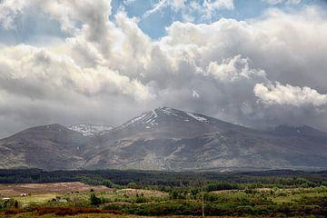 Spean vallei met Ben Nevis (Highlands, Schotland)