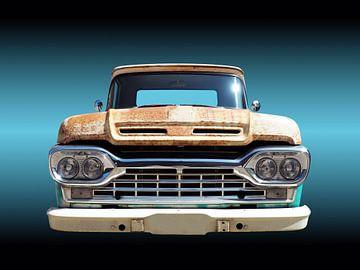 Amerikaanse klassieke auto F100 pickup 1960 van Beate Gube