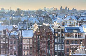 Amsterdam uitzicht kalvertoren van