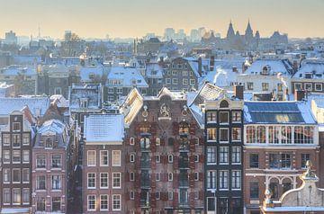 Amsterdam uitzicht kalvertoren van Dennis van de Water