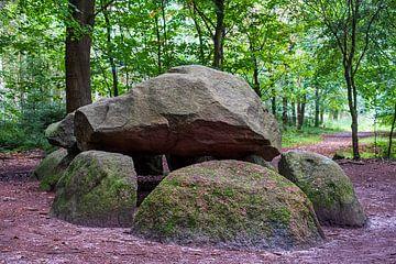 Hunebed Dolmen D11 in het Evertsbos van Evert Jan Luchies