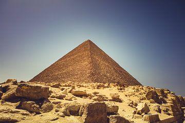De Piramides in Gizeh 05.5 van FotoDennis.com