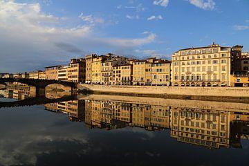 Reflecties in Florence van Jan Kranendonk