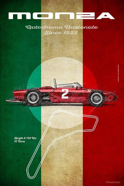 Ferrari 156 F1 in Monza von Theodor Decker