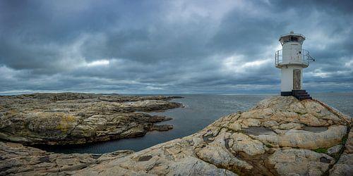 Vuurtoren op Marstrand van Gilbert Schroevers