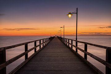 Bansin Pier, Usedom, Deutschland von Adelheid Smitt