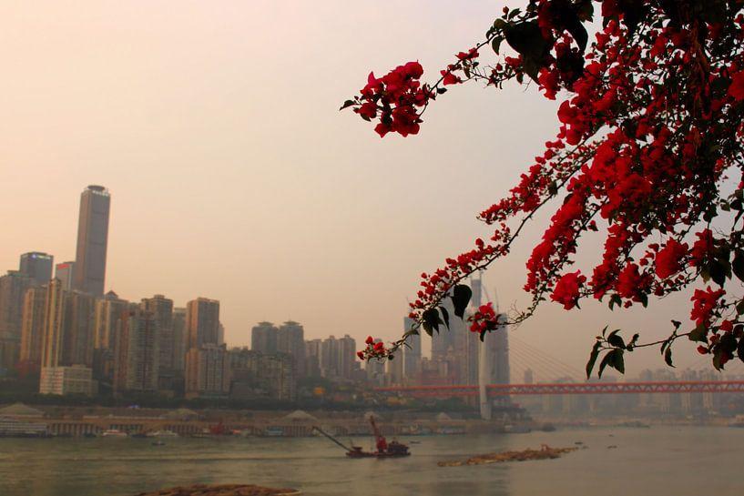 Yangtze River Poetry 1 - Chongqing, Chine sur Loretta's Art