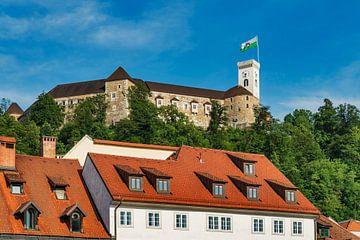 Die Burg von Ljubljana, Slowenien von Gunter Kirsch