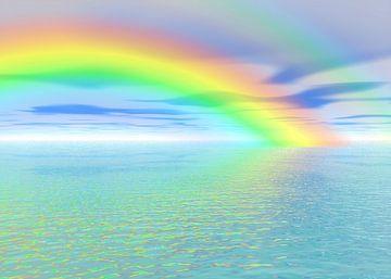 Rainbow van