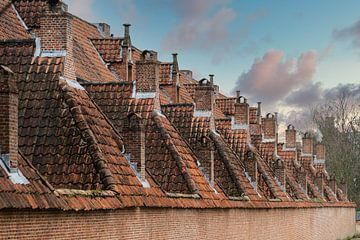 Daken  van het Begijnhof in Lier van Guy Lambrechts