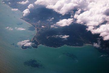 Luchtfoto van Thailand van MM Imageworks