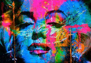 Mariyln Monroe Collage Pop Art PUR 1