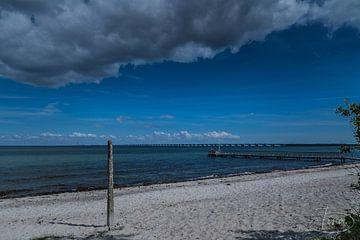 Een kijkje vanaf het strand van Tina Linssen