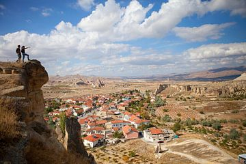 Wanderer in Kappadokien von
