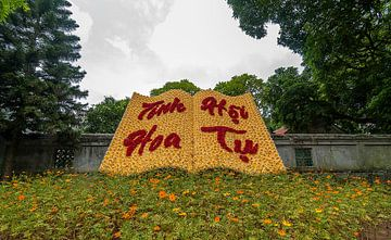 Hanoi: Confuciustempel van Maarten Verhees