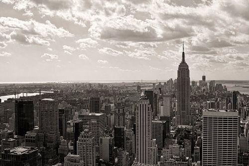 New York vanaf Top of the Rock