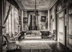 Wohnzimmer schwarz und weiß