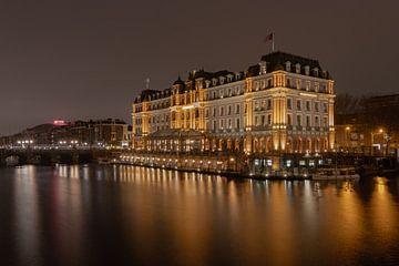 Amstel Hotel zicht op de Amstel