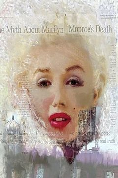 Marilyn Myth Marilyn Monroe | Marilyn Monroe Pop Art von Leah Devora