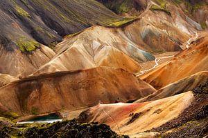 Landmannalaugar Iceland van