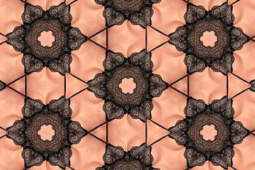 Frau in Spitzenunterwäsche (Kaleidoskop) von Carl Remmers