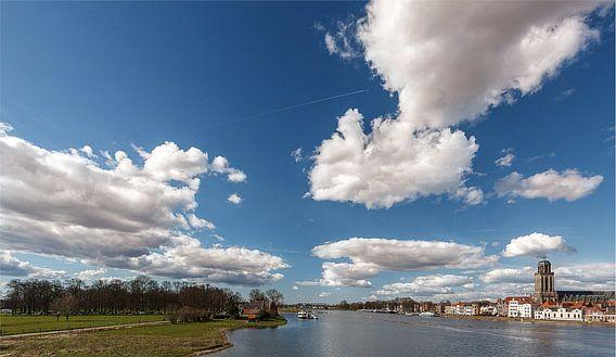 Deventer skyline 2015-04-05 van Jan Haitsma