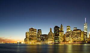 New York bij Night