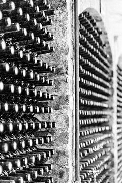Wijnflessen... van Jack Koning