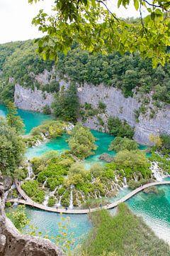 Plitvicemeren Kroatië van Marly Tijhaar