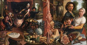 Die fette Küche. Eine Allegorie, Pieter Aertsen