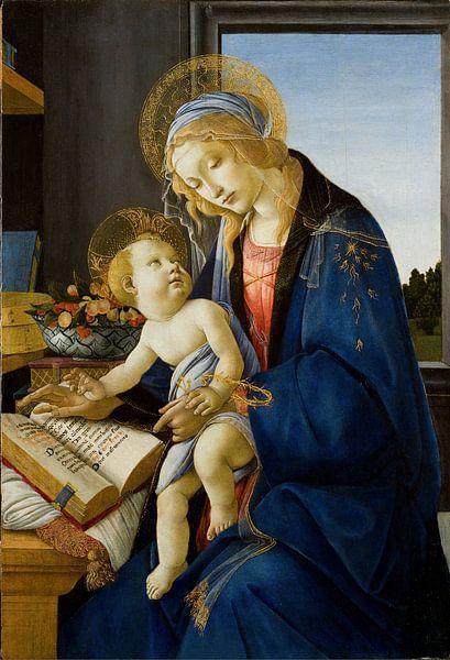 Sandro Botticelli - Maria met Kind van 1000 Schilderijen