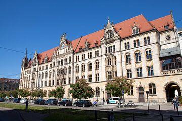 Magdeburg - Eike von Repgow Justitieel Centrum van t.ART